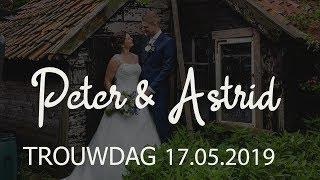 Trouwfilm Peter en Astrid