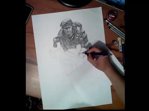Видео как нарисовать Warface