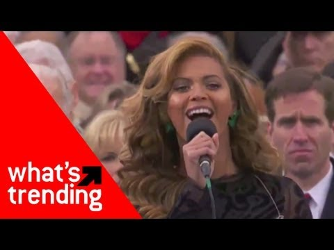 Beyonce National Anthem at Obama Inauguration Plus Top 5 Videos of 1/21/13