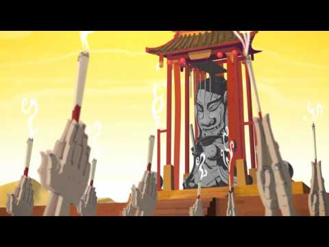 "GE China: Future Folklore Animation ""Water"" (雨淡盐湖)"