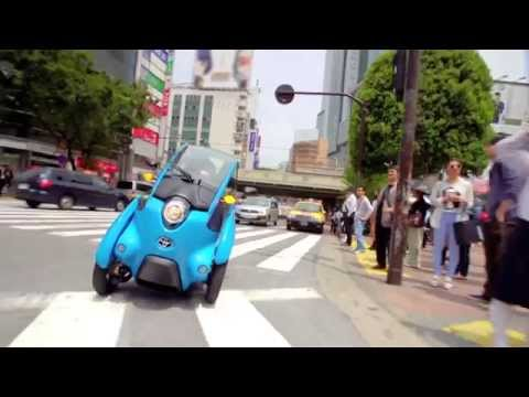 Toyota i-ROAD Tokyo trial: driving footage and user impressions