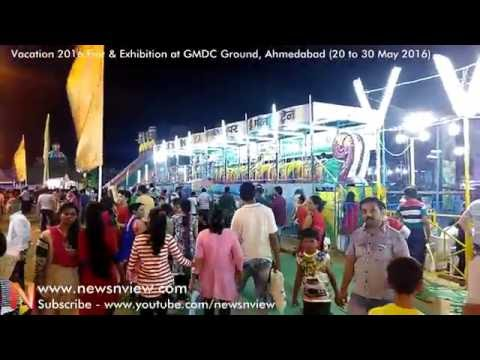 Children Rides at Vacation 2016 Fair Entertainment Park in Ahmedabad