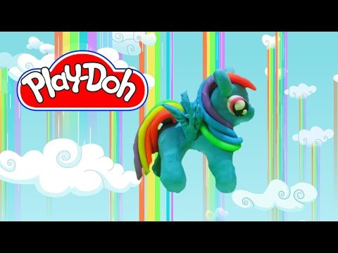 How To Make Play-doh Rainbow Dash My Little Pony video