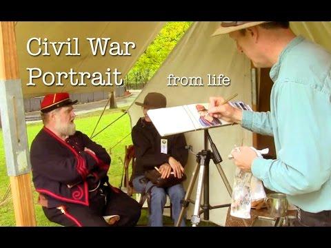 Civil War Portrait from Life