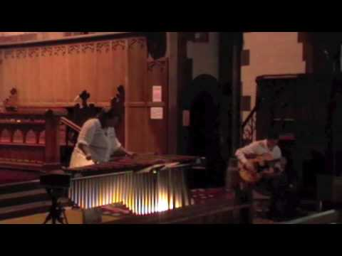 Marimba Solo Light in Darkness by Evelyn Glennie Performed by Gillian Maitland and David Fairweather