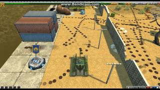 Минное поле/ Field of mines (TankiOnline)