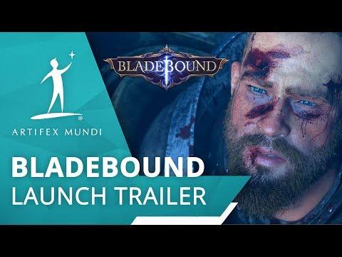 Bladebound Launch Trailer (mobile action RPG)