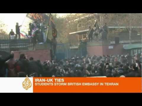 Iranian students storm British embassy in Tehran