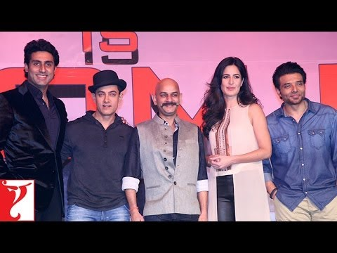 Press Meet With The Team Of DHOOM:3 - Part 1