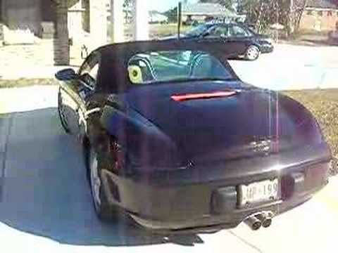boxster with straight pipes youtube. Black Bedroom Furniture Sets. Home Design Ideas