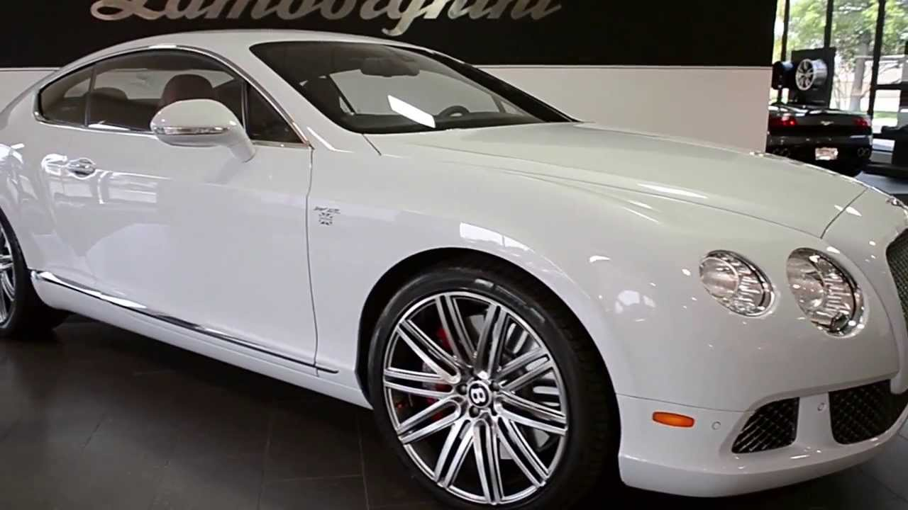 2013 Bentley Continental Gt Speed Ice White Lc251 Youtube