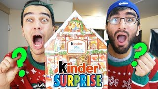 DO NOT Open A Kinder Surprise Advent Calendar Early... Christmas Calendar Opening