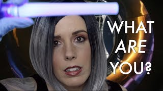 🔧FIXING YOU 2👽: Sci-Fi ASMR Medical Exam Role Play (feat. Personal Attention, Otoscope, & Light)