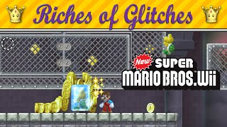 Riches of Glitches in New Super Mario Bros. Wii (Glitch Compilation)