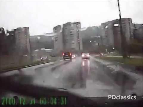Car Gets Struck by Lightning