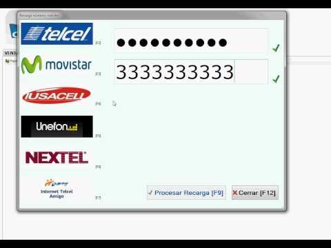 Recargas Telcel Movistar Iusacell Unefon Nextel