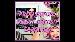 AVON Estore Earnings Information