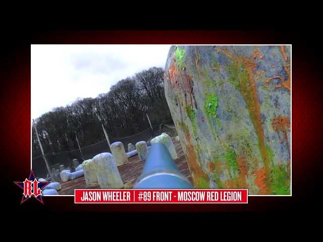 Paintball Barrel Cam: Jason Wheeler, Russian Legion, 2/2/13, Bricket Wood Practice