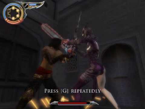 Prince Of Persia 3 The Two Thrones Secret Chainsaw Weapon