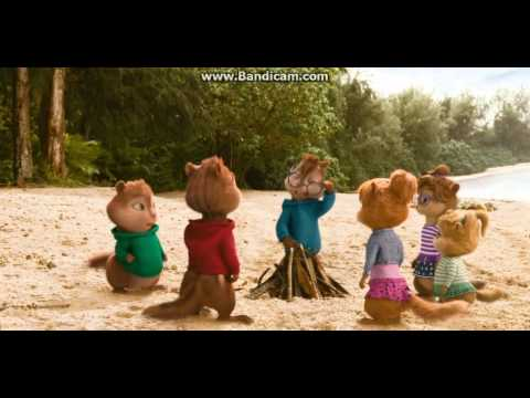 Alvin and The Chipmunks:Chipwrecked- Cute Chipmunk/Chipettes Moment