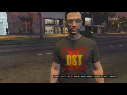 GTA V - Todas as Camisas especiais do evento 10 anos GTA San Andreas