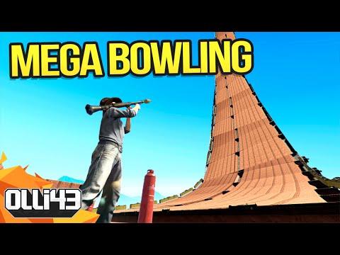 GTA 5 MEGA BOWLING! (GTA 5 Versus)