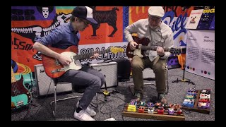 """Adam Levy and Rich Hinman   """"What Would I Do Without You?"""" by Ray Charles   live @ NAMM 2019"""