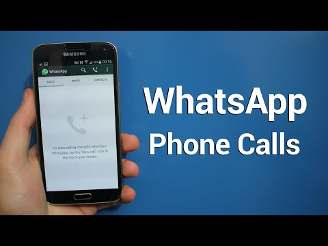 Making Phone Calls On WhatsApp! (Enable Phone Call Feature)