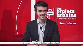 FPU LIVE - Urbaniste : valoriser le diplôme ou la pratique ?