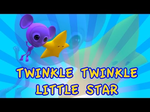 Twinkle Twinkle Little Star Rhyme With Lyrics - English Nursery Rhymes Songs For Children video
