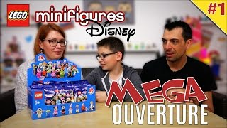 COLLECTION COMPLETE ! Lego Minifigures Disney booster | Family Geek