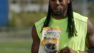 Oberto's Beef Jerky commercial (Richard Sherman)