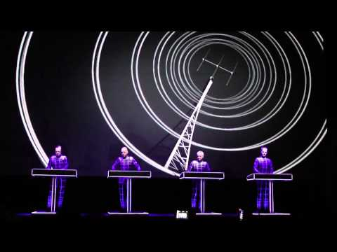 Kraftwerk-Radioactivity (Live At The Tate Modern London 09/02/2013)