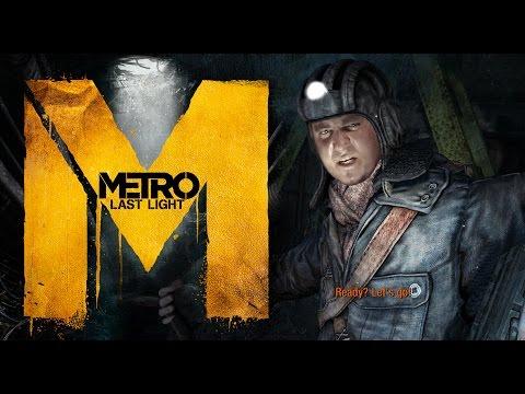 Мэддисон играет в Metro: Last Light [Пытка мушкетерами]