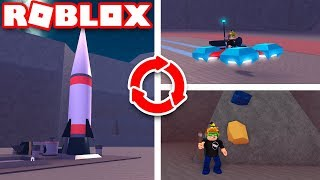 ROBLOX SPACE MINING TYCOON / THE BEST TYCOON GAME IN ROBLOX
