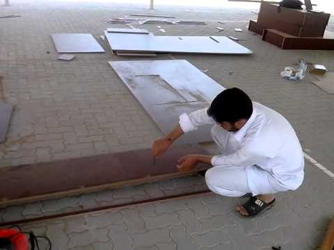Working for AQSA School - 09/17/2014