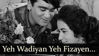 Aaj Aur Kal  Yeh Wadiyan Yeh Fizaayein  Mohd Rafi