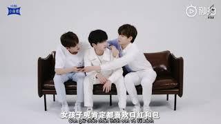 lVIETSUB CFl  R1SE quay quảng cáo sữa chua Xiaomanyao