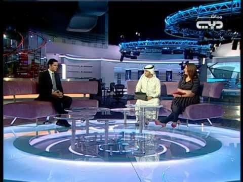 Nour Eldeen on Dubai TV 10.Feb.2013
