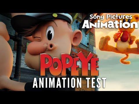 Genndy Tartakovsky's POPEYE Animation Test mozi, előzetes