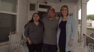 Rosie Rivera Receives Donations at Jenni
