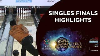 Highlights of Singles Finals Night - World Bowling Men's Championships