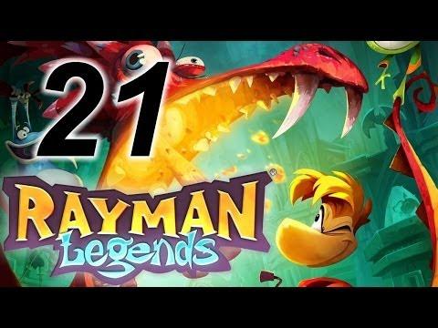 Прохождение Rayman Legends [Кооператив] #21 ФИНАЛ