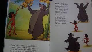 L histoire du livre de la jungle. Disney. Livre audio