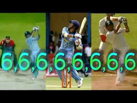 SACHIN TENDULKAR vs SHANE WARNE.The best 6s and more! NO ONE DOES IT BETTER!