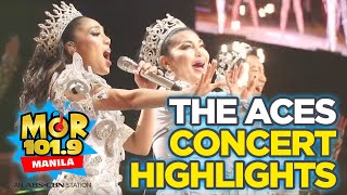 MOR Exclusives: The Aces concert highlights and exclusive behind-the-scenes with DJ Jhai Ho!