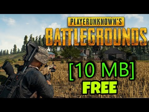PUBG Full Game Highly Compressed FREE