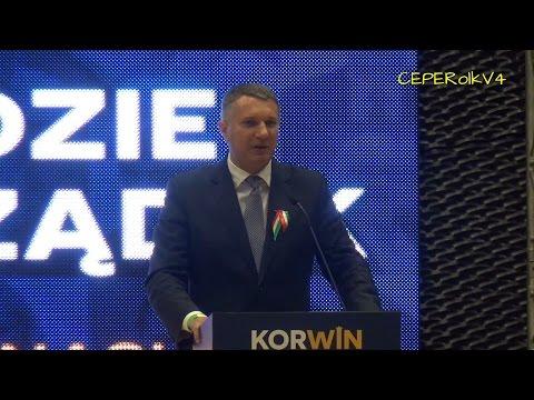 Konwencja Partii KORWiN W Katowicach - Przemysław Wipler (13/13)