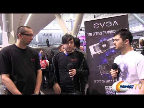 Newegg TV @ PAX East 2013 with EVGA