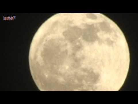 The Moon On January 8, 2012 17:41 Pst. Full Moon Close Up